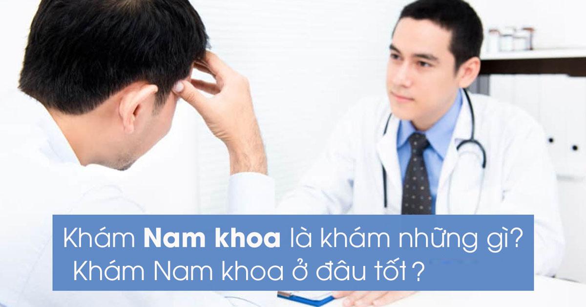 Khám nam khoa ở Nam Định uy tín